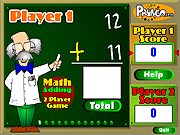 Click to Play Two Player Math Game