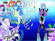 Click to Play With Ocean Inside Dress Up