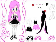 Click to Play Kiss Doll Dress Up