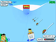 Click to Play Flinstones Bobsleigh