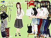 Click to Play Casually Cropped Style Dressup