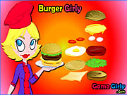 Click to Play Burger Girly