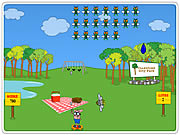 Click to Play Slingshot Picnic Defender