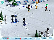 Click to Play Ski Slope Showdown