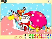 Click to Play Santa Claus Painting