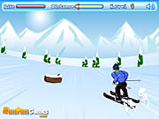 Click to Play Skiing Dash
