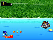 Click to Play Sonic Surf