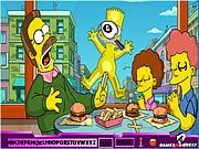 Click to Play Hidden Alphabets - Simpson