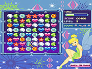 Click to Play Tinkerbell's Jewel Jumble