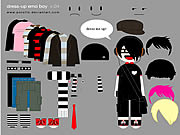 Click to Play Little Emo Boy Dress Up