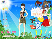 Click to Play Sun and Leaves Dressup