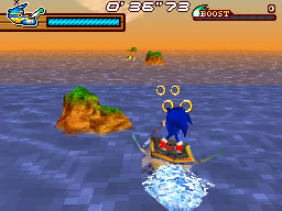 Click to Play Sonic Rush Adventure Flash
