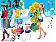 Click to Play Sunflower Dressup