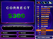 Click to Play Who wants to be a Millionaire