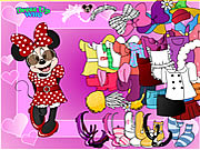 Click to Play Minnie Mouse Dress Up