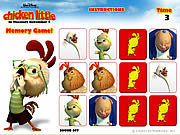 Click to Play Chicken Little - Memory Game