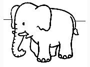 Click to Play Coloring Elephants -1