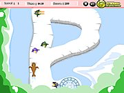 Click to Play Penguin Skating
