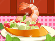 Click to Play Shrimp Bruschetta