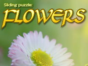 Click to Play Sliding Puzzle: Flowers