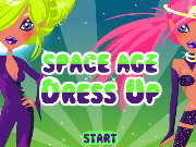 Click to Play Space Age Dress Up