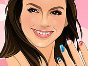 Click to Play Victoria Justice Manicure